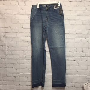High-Rise Wide Leg Mossimo Jeans Size 8